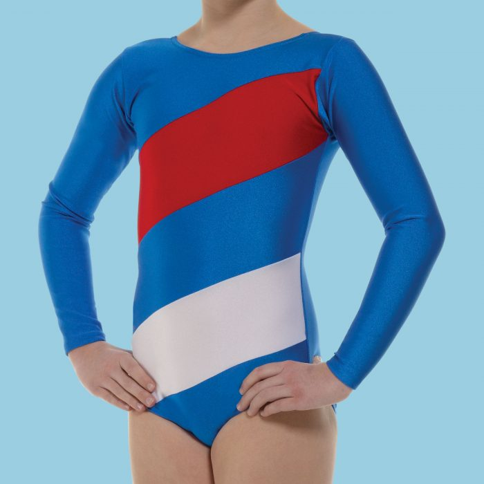 Flying the Flag Leotard from Tappers and Pointers Direct