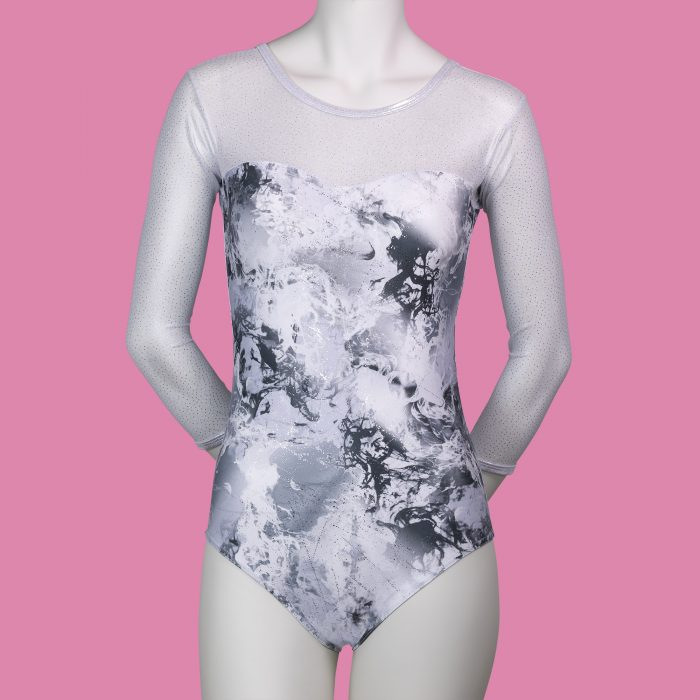 SILVER-DREAM-ADULTS-3_4-LENGTH-SLEEVED-LEOTARD-by-TAPPERS-and-POINTERS