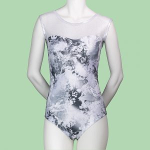 Silver Dream Sleeveless Leotard Adults