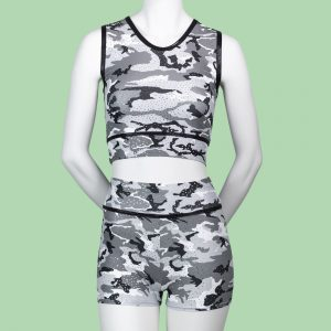 Camouflage Adults Crop Top