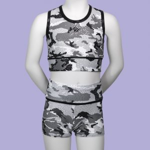 Camouflage Children's Crop Top