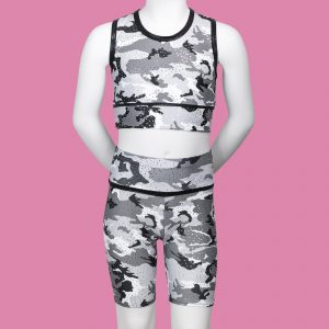 Camouflage Children's Cycle Shorts