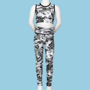 Camouflage Children's Footless Tights
