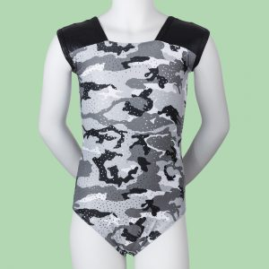 Camouflage Sleeveless Children's Leotard