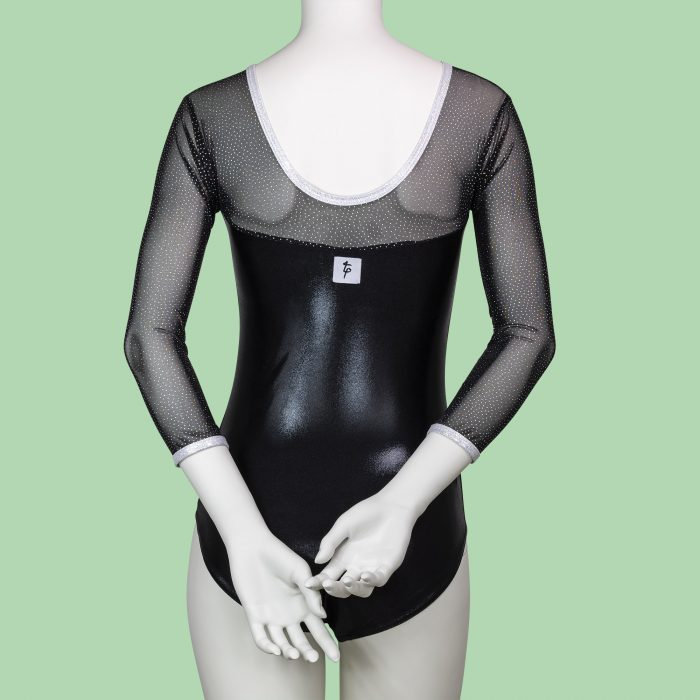 MIDNIGHT-SKY-ADULTS-3_4-LENGTH-SLEEVED-LEOTARD-by-TAPPERS-and-POINTERS