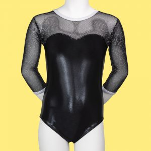 Midnight Sky Children's ¾ Length Sleeved Leotard