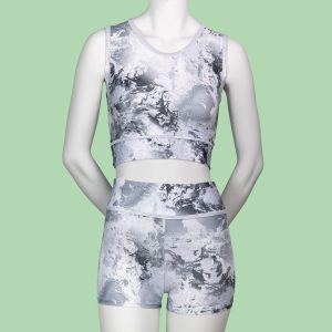 Silver Dream Adults Crop Top