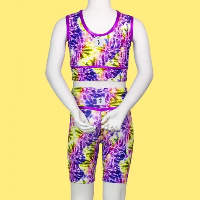 TIE-DYE-CHILDRENS-CYCLE-SHORTS-by-TAPPERS-and-POINTERS-DIRECT