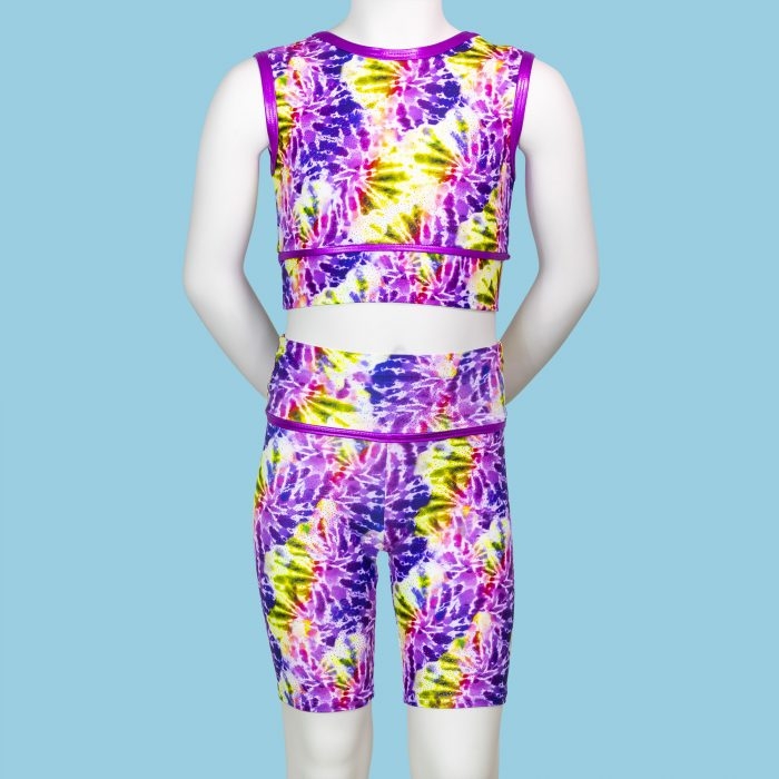 TIE-DYE-CHILDRENS-CYCLE-SHORTS